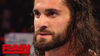 Fired-up Seth Rollins gets ready for SummerSlam after Raw: Exclusive, July 15, 2019