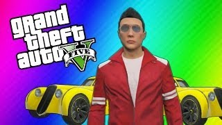 GTA 5 Online Funny Moments - Sailboats, Creepy Camera, Ladder Orgy, Banana Mobile (Multiplayer)