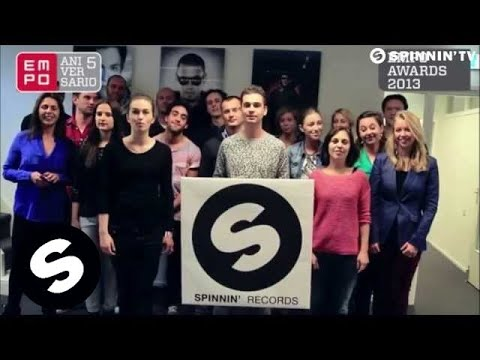 Spinnin' Records wins EMPO Award - Best Label Worldwide 2013
