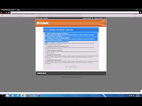 Cum sa configurezi un router wirless D-link dir 300