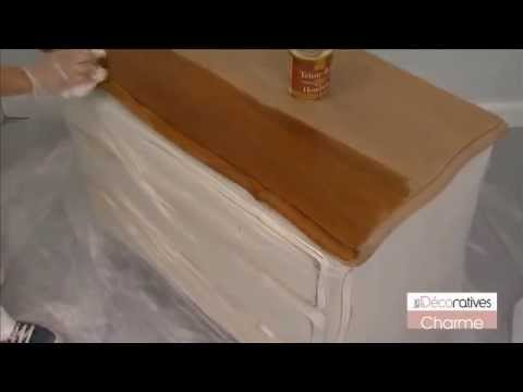 Peinture les d coratives charme sur youtube - Peinture les decoratives ...