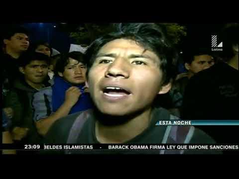 Caos en Lima: Violentas protestas contra ley de empleo juvenil
