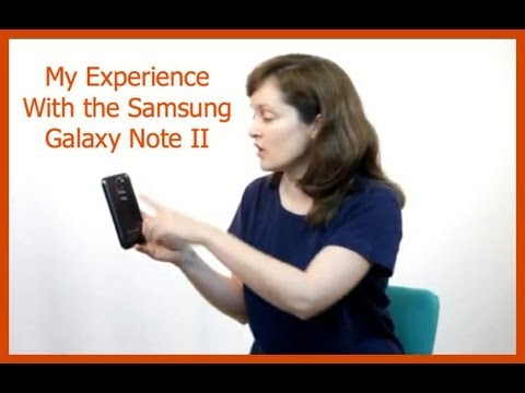 Samsung Galaxy Note Review With Verizon 4G LTE