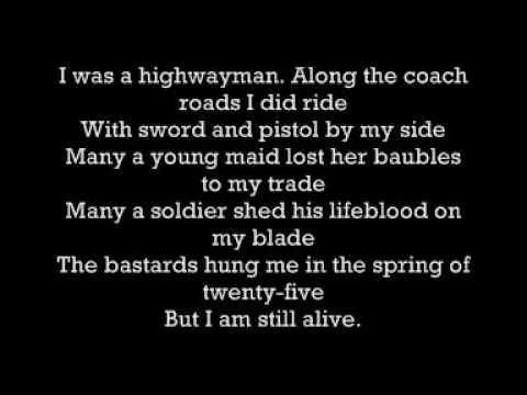 The Highwaymen - Highwayman (W. Nelson, K. Kristofferson, W. Jennings, J. Cash)