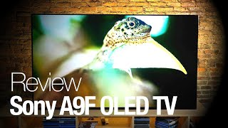 Sony A9F Master Series 4K OLED TV Review // Can Sony's OLED TV topple LG's award-winning offerings?