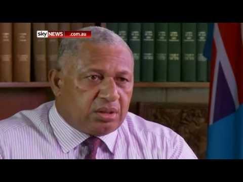 Frank Bainimarama criticises Australia and New Zealand