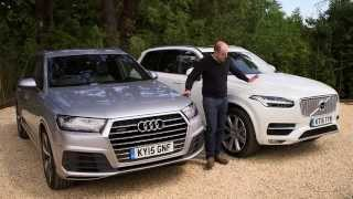 Audi Q7 vs Volvo XC90 review | TELEGRAPH CARS