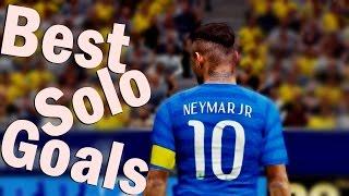 PES 2016 PC - Best Solo Goals Hat-trick # Neymar Jr.