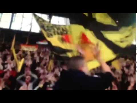 Dortmund Fans Youtube Dortmund Fans Singing Aris