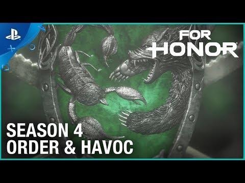 For Honor: Season 4 – Order & Havoc | Cinematic Reveal Trailer | PS4