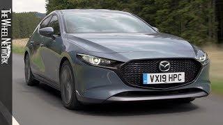 2019 Mazda 3 Skyactiv-G GT Sport | Polymetal Grey | Driving, Interior, Exterior (UK)