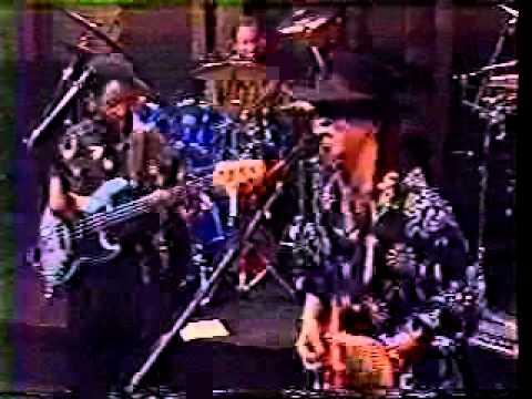 Stevie Ray Vaughn with Hiram Bullock