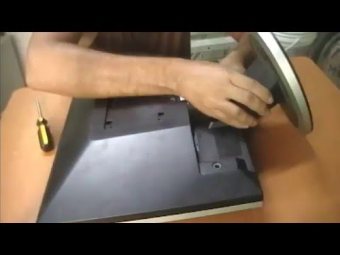 Como  destapar monitor Samsung 740N / LS17HAAKS/XBM