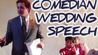 Best Brother Standup Comedian - Wedding Toast Kills Crowd!
