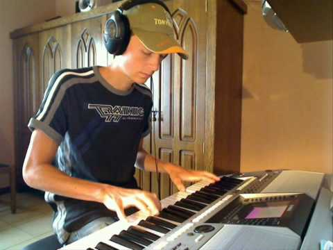 Dj Tiësto - Adagio for strings on keyboard [HD]