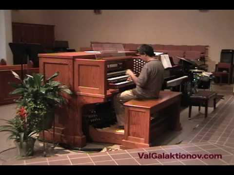 Бах Иоганн Себастьян - Largo из органной сонаты ДО-мажор
