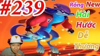 Rồng Cá Sấu Dễ Thương DRAGON CITY HNT chơi game Nông Trại Rồng HNT Channel #239