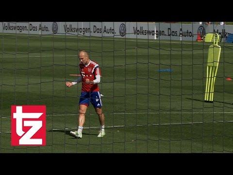 Arjen Robben - Superstar zeigt Emotionen und gibt immer Vollgas