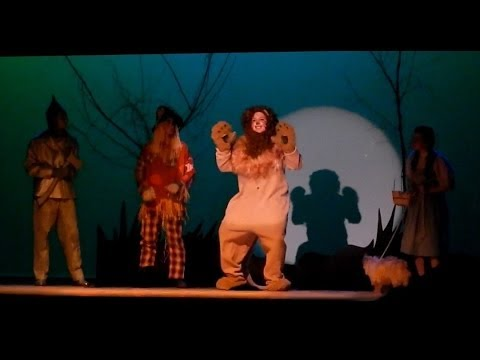 The Gilbert School - Cowardly Lion - If I Only Had the Nerve