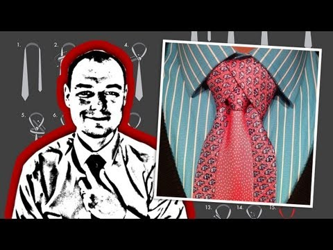 How to Tie a Necktie Merovingian or Ediety Knot