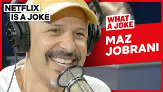 Maz Jobrani Argued With An Audience Member | What A Joke | Netflix Is A Joke