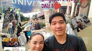Singapore Travel Vlog Day 3 | tour + diaries + shopping