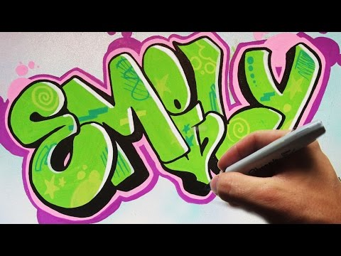 Emily Throwie Graffiti Canvas Speed Art