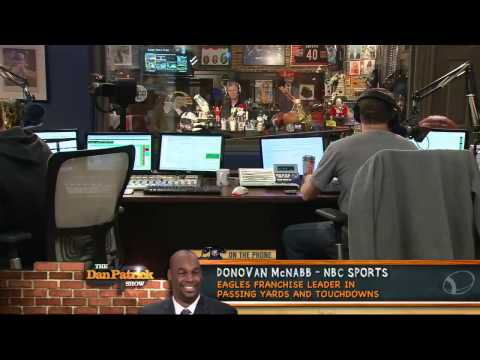 Donovan McNabb on The Dan Patrick Show 4/23/13