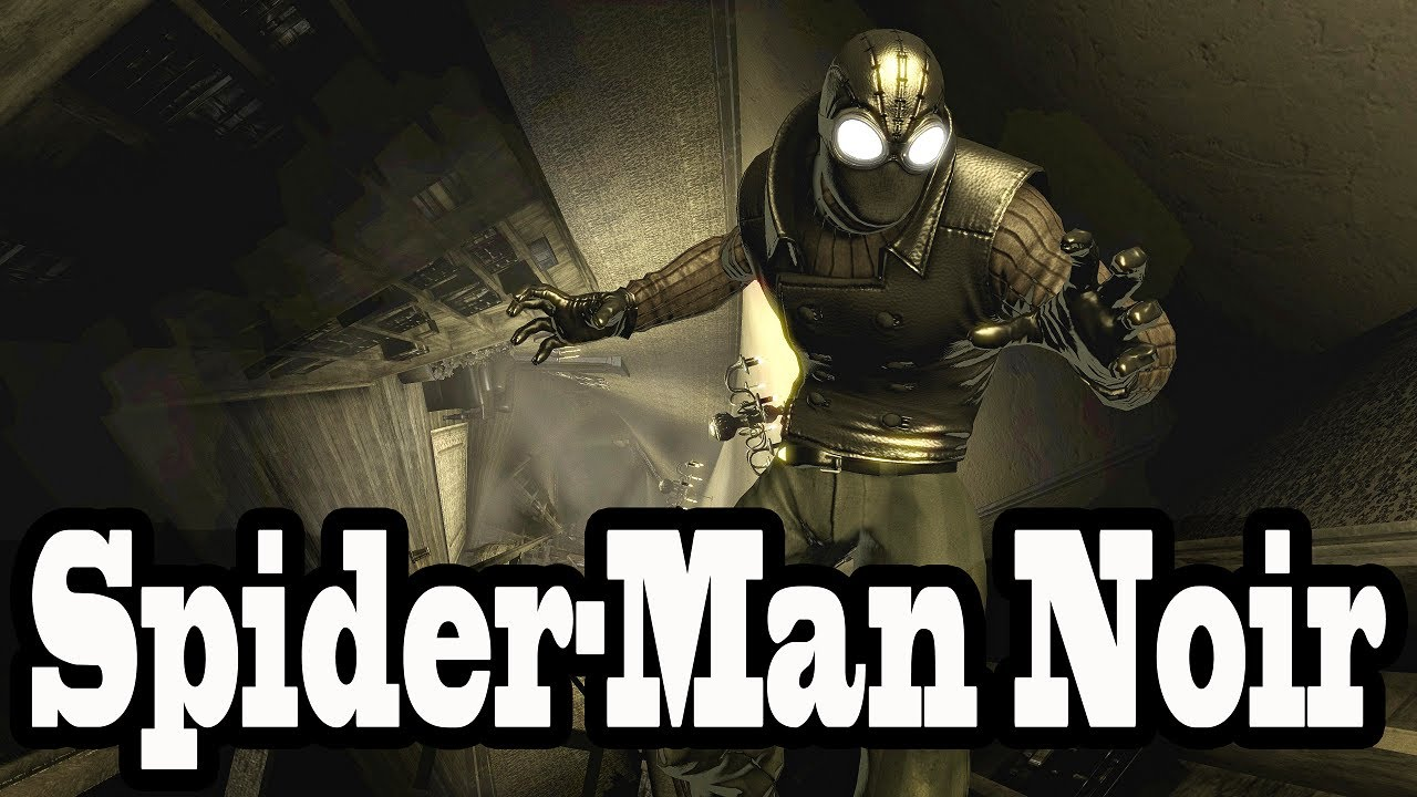 Video Game Spider-man Noir