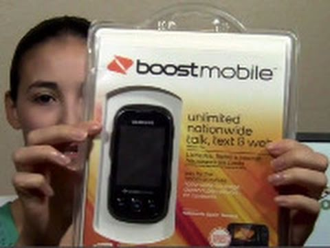 Samsung Seek (Boost Mobile) Unboxing