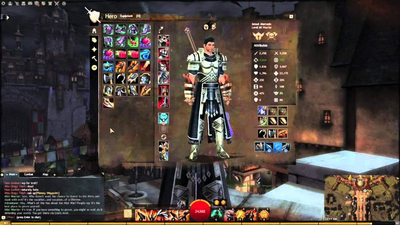 Guild Wars  Builds