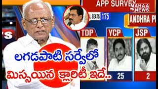 Exit Poll 2019 : IVR Analysis On Lagadapati Survey On AP Elections | MAHAA NEWS