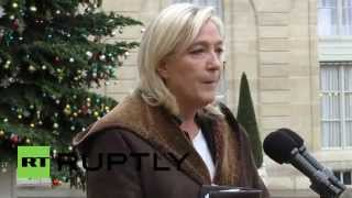 France: 'France must declare war on Islamic fundamentalism' - Le Pen