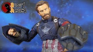 Marvel Select Captain America Avengers 3 Infinity War Action Figure Review Recensione
