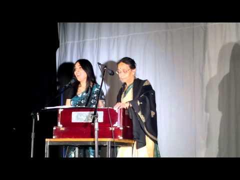 Rabindra Sangeet by Dia and Roma di - Rabindra Jayanti 2011