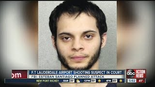 Fort Lauderdale airport shooting suspect due in court Monday