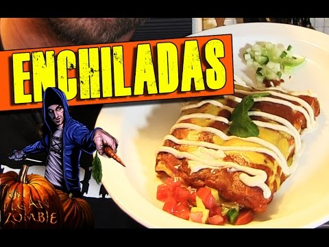 Enchilada Recipe | The Vegan Zombie