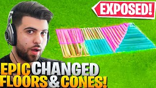 Epic Has SECRETLY Changed Floors And Cones! (The Truth EXPOSED!) - Fortnite Battle Royale