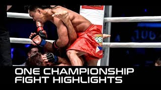 ONE Heroes of Honor Fight Highlights: Kevin Belingon Destroys Andrew Leone