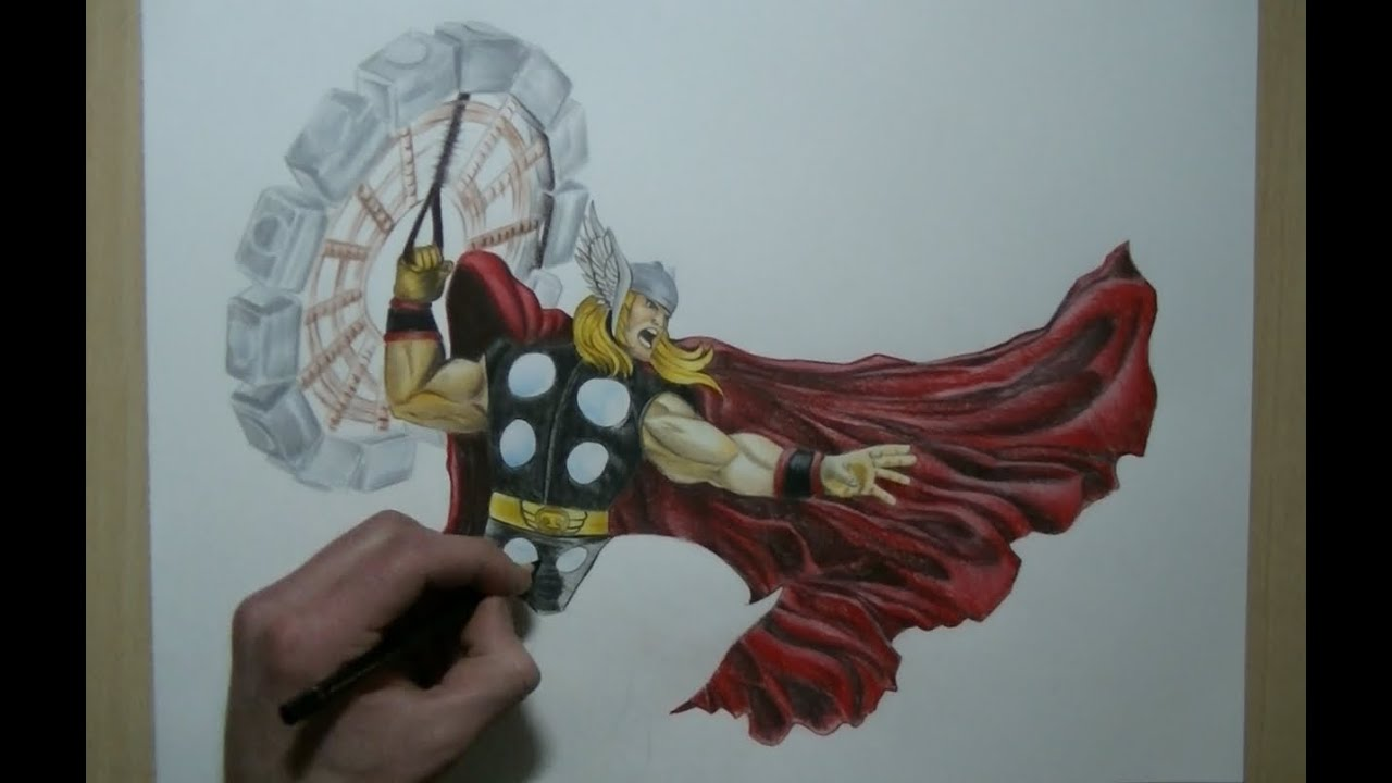 Avengers Sketches Drawings Drawing Thor Avengers