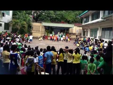 Makulay Ang Buhay Sa Sinabawang Gulay - Nutrition Day 2012 - Kabayanan Elementary School video