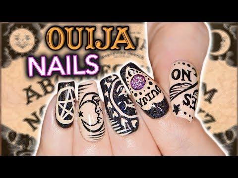 DIY OUIJA NAIL ART *not clickbait* *actual nail art* *emergency*