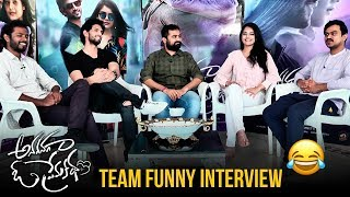 Anaganaga O Premakatha Team FUNNY Interview | Ashwin J Viraj | Riddhi Kumar | 2018 Telugu Movies