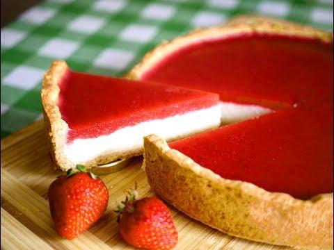 Пирог с ягодой Трехслойный. Просто и вкусно