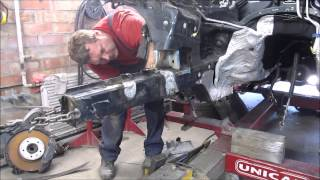 VW Touareg. Body repair. Ремонт кузова.