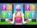 MATCH the ITEMS MEMORY GAME *NEW* Game Mode in Fortnite Battle Royale