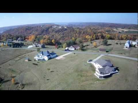 Radio Controlled Plane Fly-over (Fall Colors)