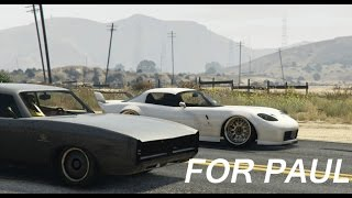 GTA 5 - Paul Walkers Fast And Furious Cars