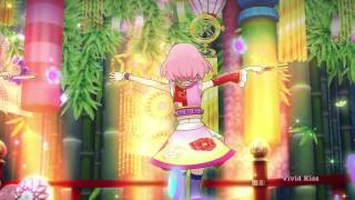 (HD)Aikatsu! -Miyabi Fujiwara & Sakura kitaoji-[Light Pink Day Tripper]- Episode 121