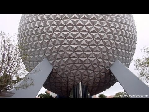 Spaceship Earth FULL RIDE POV Epcot - Walt Disney World HD 1080p